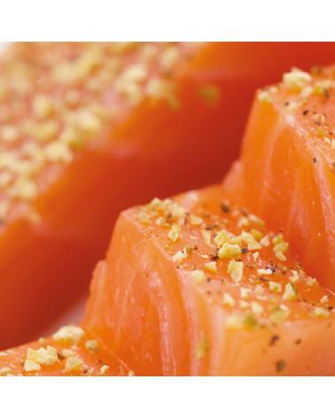 cœur de saumon fumé gin tonic